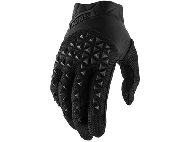 100% Airmatic Handschoenen, black/charcoal